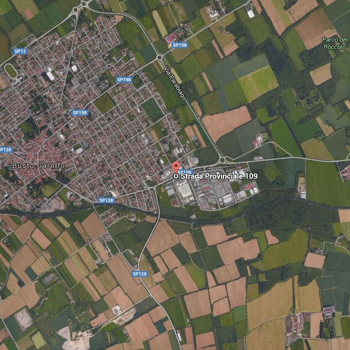 Mappa sede Busto Garolfo